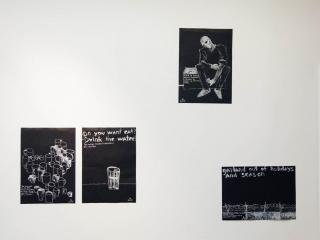 Gamlet Zinkovsky, 'Black Diary' (2013), Detail